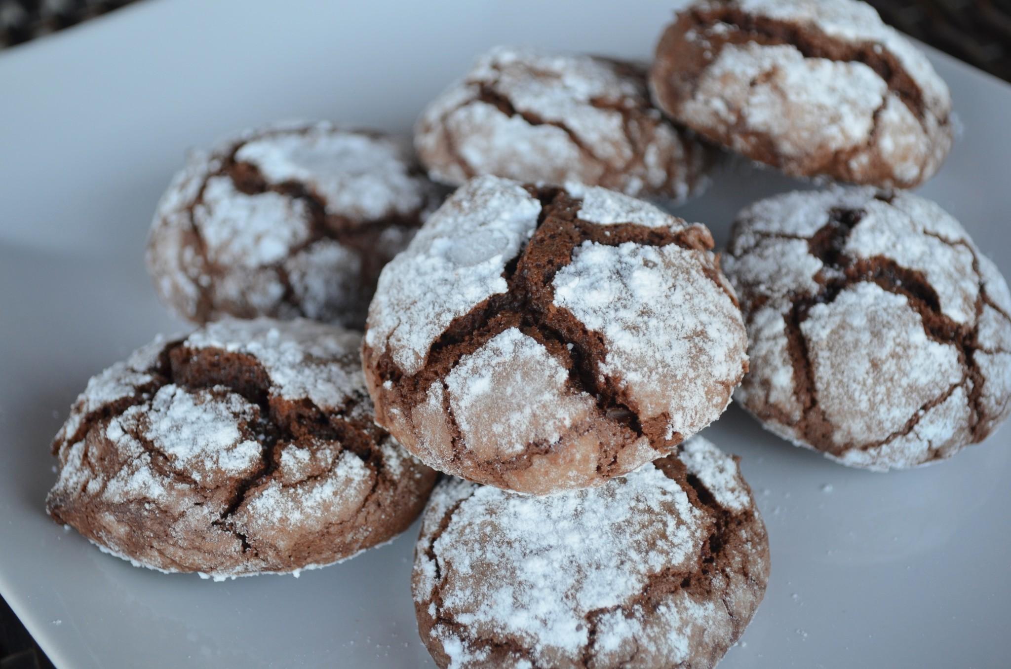 Cookies de Chocolate e Amêndoa