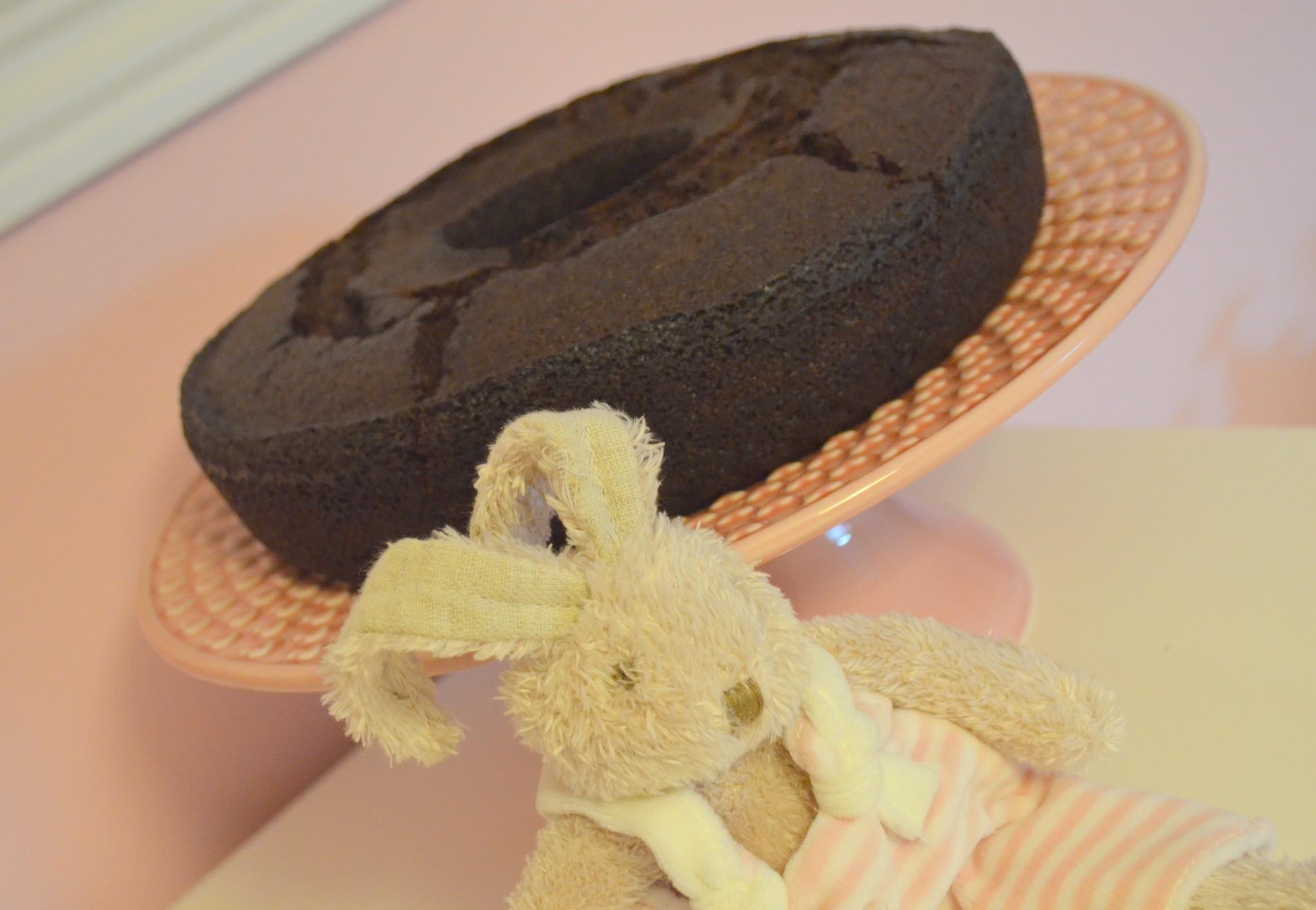 Bolo de Courgette e Chocolate
