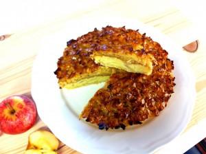 Tarte de maçã e amêndoa1